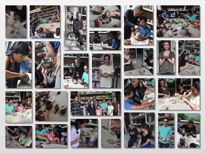 Ceramic Workshop 1 Collage